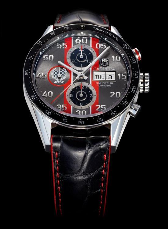Tag Heuer Carrera 43mm Cronografo Replica Orologio