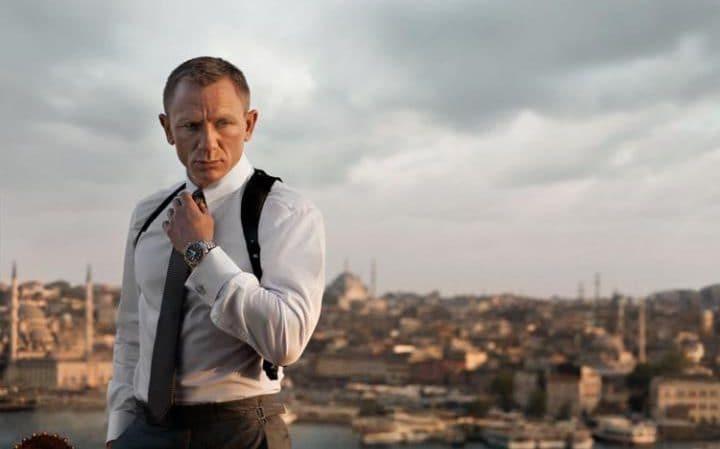 Daniel Craig In Skyfall Indossa Un Orologio Replica Omega