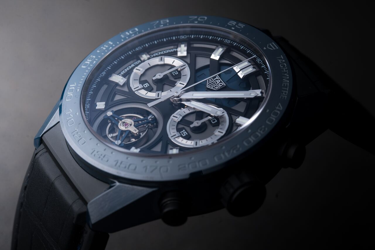 TAG Heuer Carrera Tête de Vipère Chronograph Tourbillon Chronometer Replica